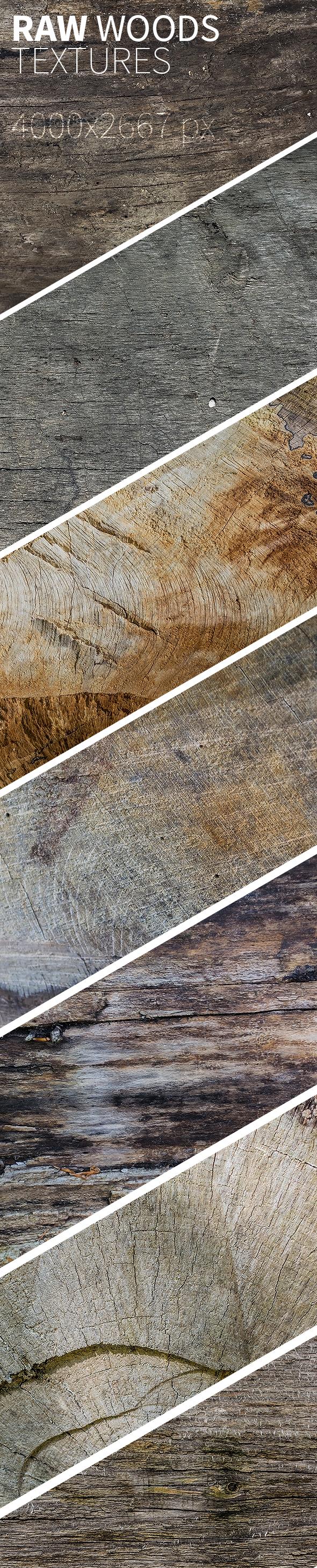 raw wood textures