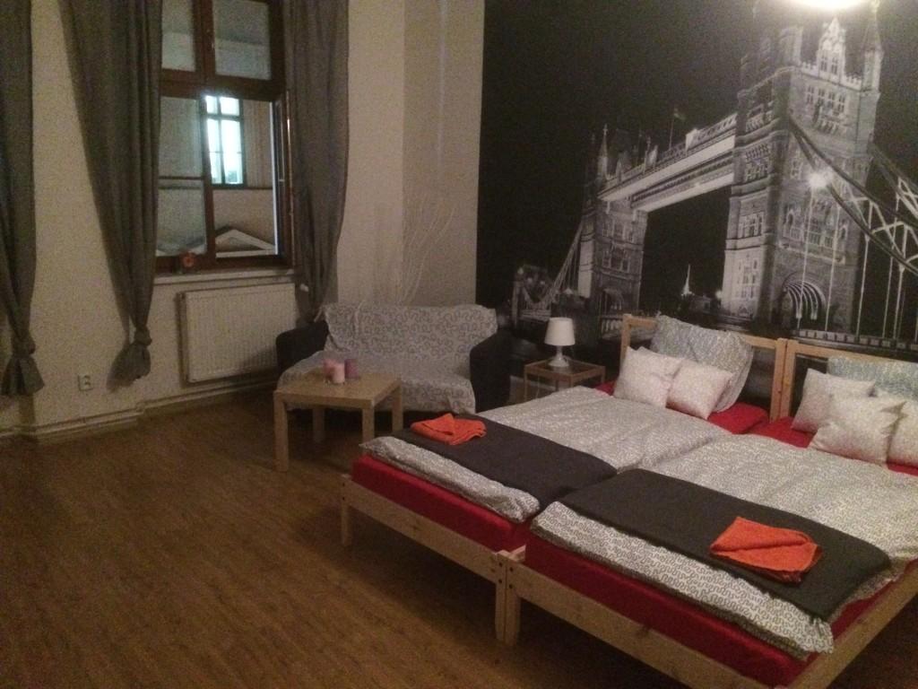 Airbnb v Brne